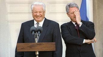 Ельцин, Клинтон