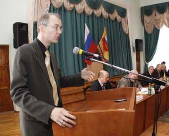 Олег Шеин в Пскове