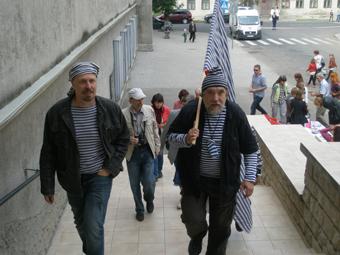 Александр Бушуев и Дмитрий Шагин