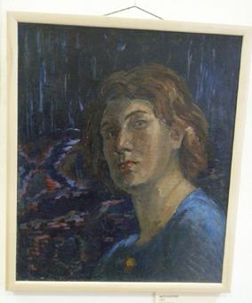 Тамара Рейн. Автопортрет