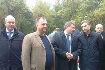Бородай, Захарченко, Сурков