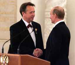 Плетнёв и Путин